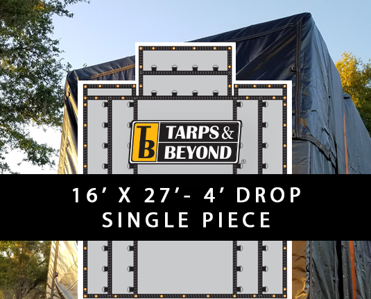 4' Drop Lumber Tarps