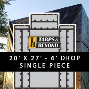 6' Drop Lumber Tarps