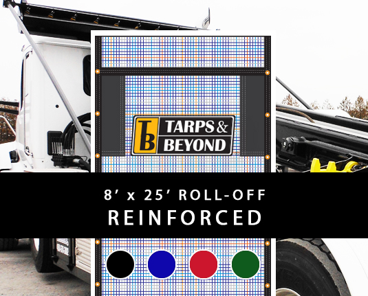 8' x 25' Roll-Off: Reinforced